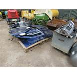 LARGE QUANTITY OF NISSAN NAVARA PANELS AND ENGINE PARTS FROM 2002 TRUCK.