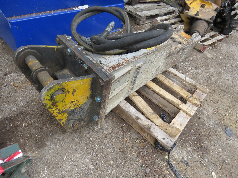 HAMMER BREAKER TO SUIT AN 8 TONNE EXCAVATOR, ON 50MM PINS - Image 3 of 4