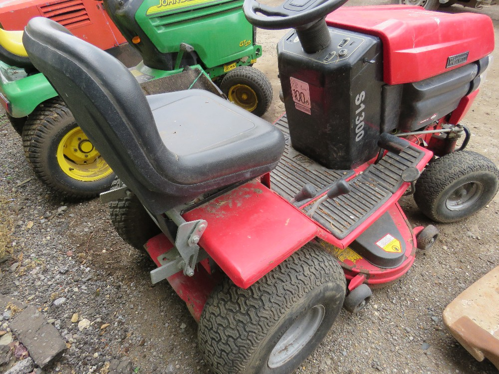 Lot 17 - WESTWOOD S1300 RIDE ON MOWER when tested was seen to start, run and drive