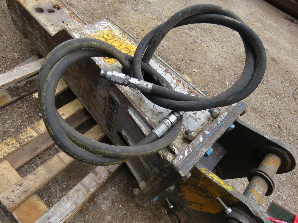 HAMMER BREAKER TO SUIT AN 8 TONNE EXCAVATOR, ON 50MM PINS - Image 4 of 4