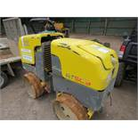 WACKER NEUSON RTSC3 DOUBLE DRUM TRENCH ROLLER YEAR 2007 PN: 5864FC WHEN TESTED WAS SEEN TO DRIVE AND
