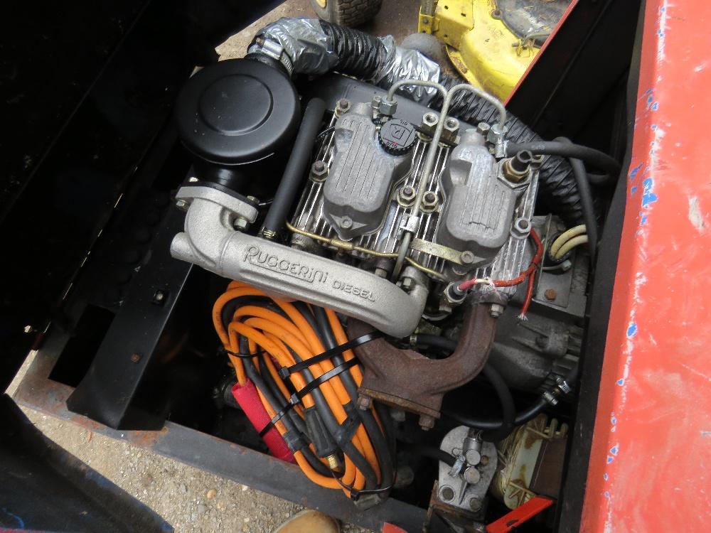 Lot 15 - DIESEL ENGINED WELDER C/W LEADS