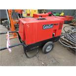 GENSET MPM 8/300 AMP WELDER GENERATOR. WHEN TESTED WAS SEEN TO TURN OVER BUT NOT START
