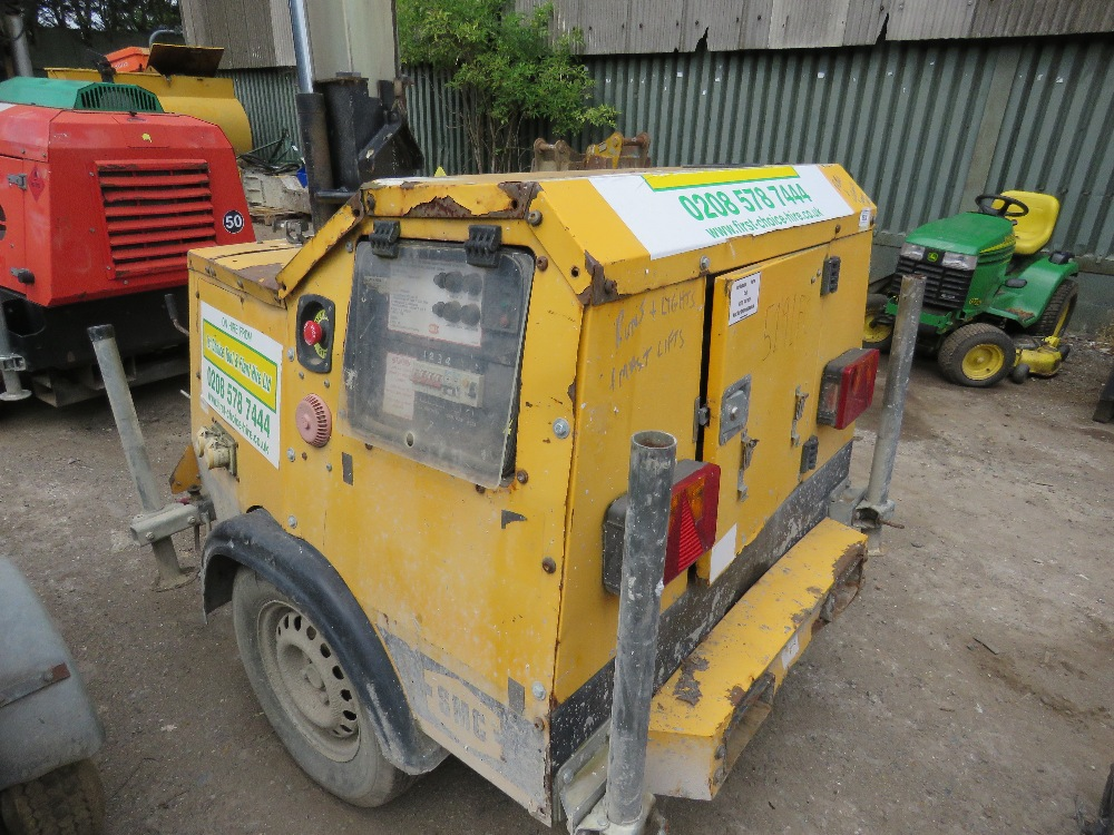 Lot 37 - SMC TL90 tower light yr2006 PN: 5191FC when tested was seen run