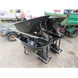 4 X HEAVY DUTY WHEEL BARROWS