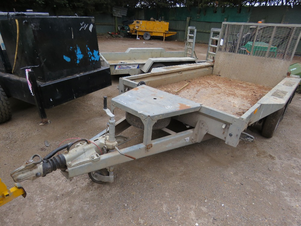 Lot 53 - IFOR WILLIAMS WIDE BODY PLANT TRAILER SN:642954 DB CODE:EJ02315 YEAR 2014