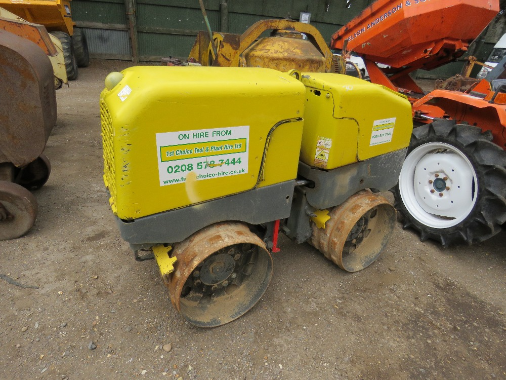 WACKER RTSC3 REMOTE CONTROL ROLLER, REMOTE IN OFFICE PN:1765FC when tested was seen to start, run - Image 6 of 6