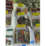 LOT ASST. ADJUSTABLE WRENCHES, VISE GRIPS, CRIMPERS, MAGNETS, ETC. (3 BOXES)