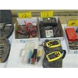 LOT ASST. HIOKI, SIGNAL DIGITAL AMP TESTERS, TES 1600 KYORITSU 3100 DIGITAL INSULATION TESTERS,