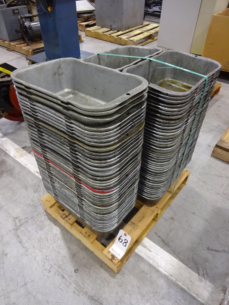 Lot 68 - LOT: BMC MFG. PAK-N-STAK SHOP PANS (Roselle)