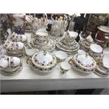 A Royal Imperial tea and dinner set