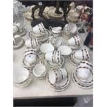 A Paragon tea set