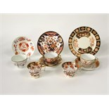 A reference collection of late 18th and early 19th century tea wares of various designs and