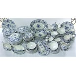 An extensive collection of Johnson's Brothers Indies pattern wares including a pair of tureens and