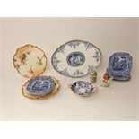 A pair of Royal Worcester blush ivory dessert plates with shaped borders and floral detail and