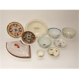 A collection of late 18th and early 19th century English ceramics including an 18th century