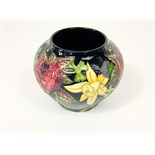 A boxed Moorcroft limited edition vase designed by Nicola Slaney, commemorating the Queen's Jubilee,
