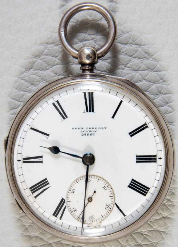"""JOHN FORREST - LONDON - CHRONOMETER MAKER TO THE ADMIRALTY - No. 29886"". Englische"
