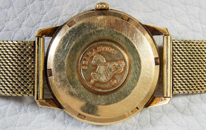 OMEGA SEAMASTER AUTOMATIK Herrenarmbanduhr der 1960er/70er Jahre, Gehäuse und Armband in 585er/14K - Image 2 of 6