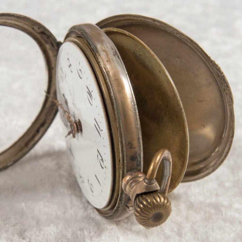 2 alte/antike Taschenuhren. Silbergehäuse, ungeprüft. - Image 6 of 20