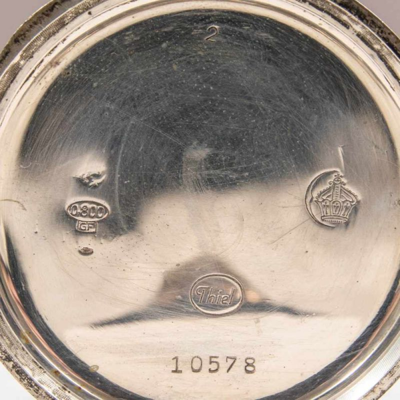 2 alte/antike Taschenuhren. Silbergehäuse, ungeprüft. - Image 19 of 20