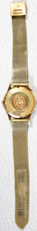OMEGA SEAMASTER AUTOMATIK Herrenarmbanduhr der 1960er/70er Jahre, Gehäuse und Armband in 585er/14K - Image 5 of 6
