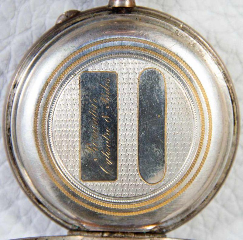 2 alte/antike Herrentaschenuhren, 800er Silbergehäuse, versch. Alter, Größen & Erhalt. 1 - Image 9 of 9