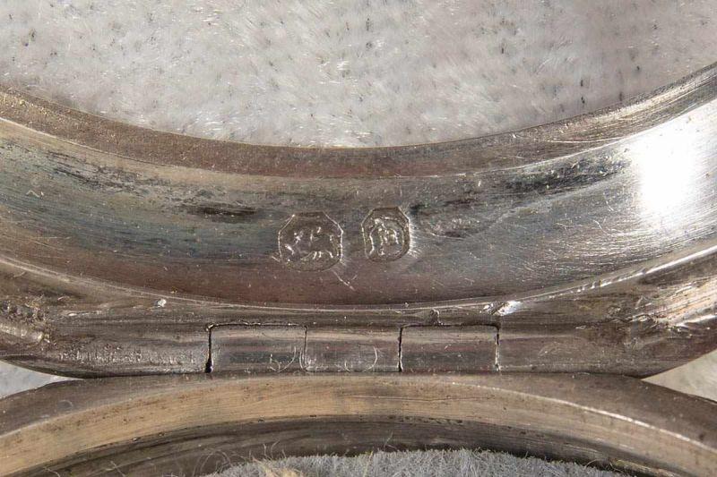 """Spindeltaschenuhr des """"JOHN ROBERTS - LONDON"""" - No. 22251. Gehäuse & Übergehäuse in Silber, weiß - Image 9 of 11"""