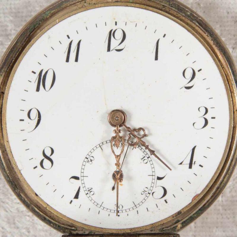 2 alte/antike Taschenuhren. Silbergehäuse, ungeprüft. - Image 7 of 20
