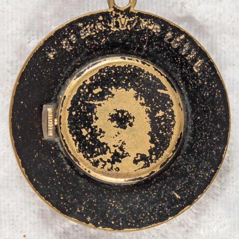 2 alte/antike Damen-Schmucktaschenuhren, ungeprüft, 1 x mit transluzidem Emaille-Dekor. - Image 3 of 13