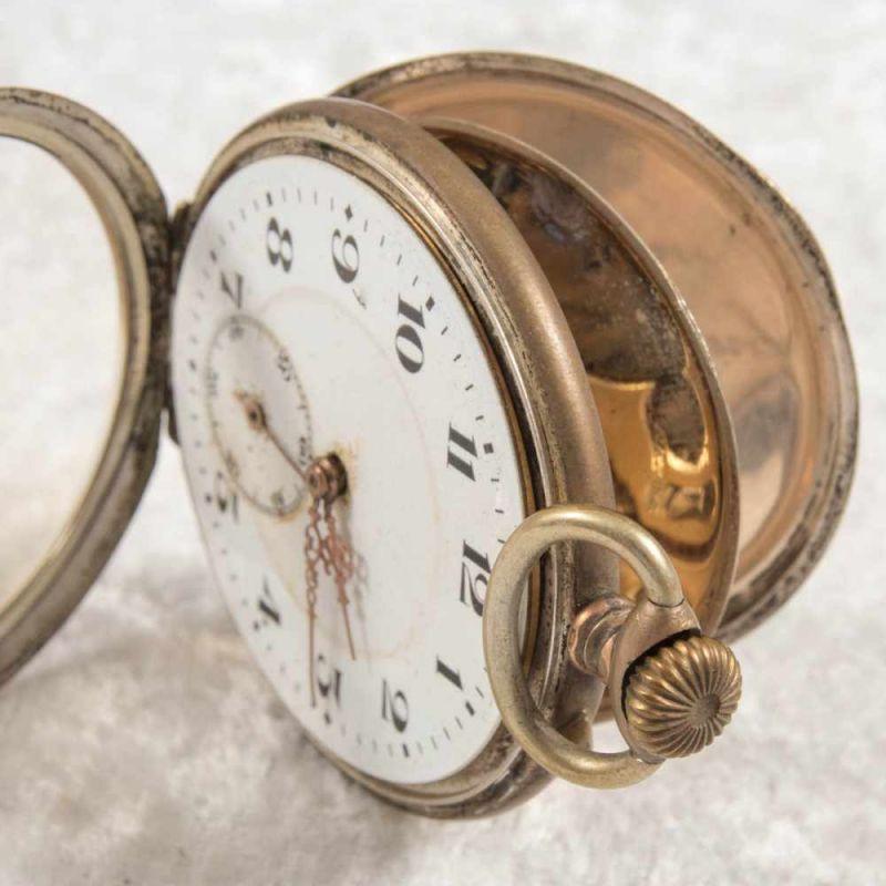 2 alte/antike Taschenuhren. Silbergehäuse, ungeprüft. - Image 14 of 20