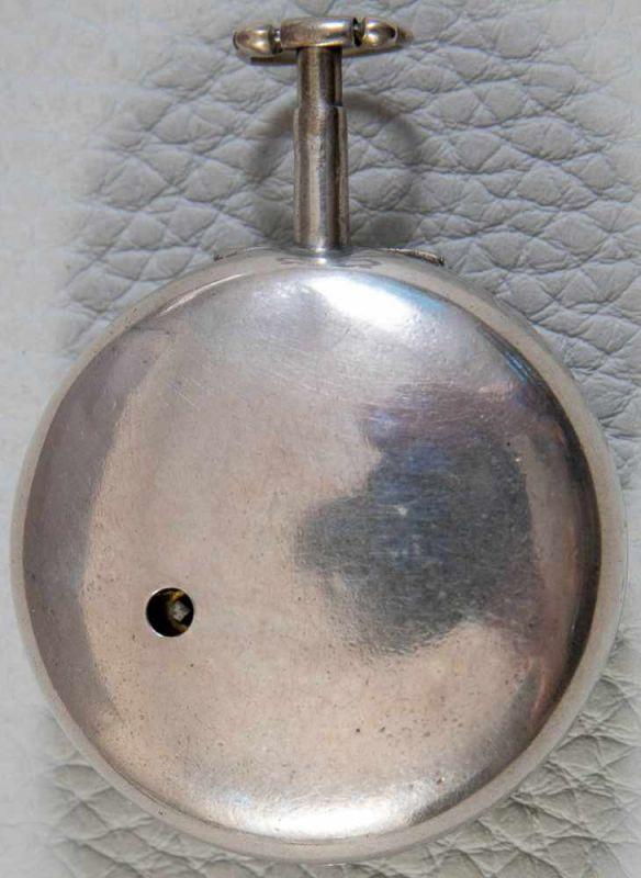 """Lot 5852 - """"A. COTWOOD - LONDON"""". Antike, englische Spindeltaschenuhr, 19. Jhd., prächtig gravierte Platine"""