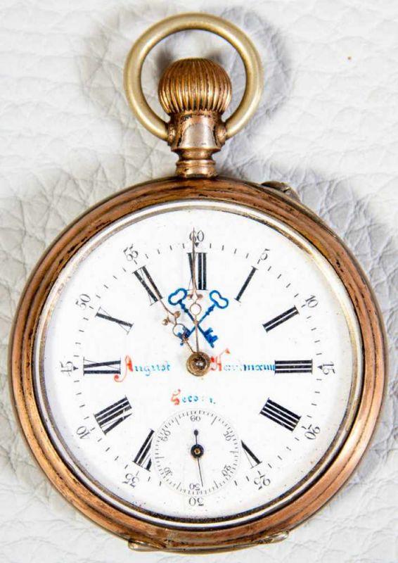 2 alte/antike Herrentaschenuhren, 800er Silbergehäuse, versch. Alter, Größen & Erhalt. 1
