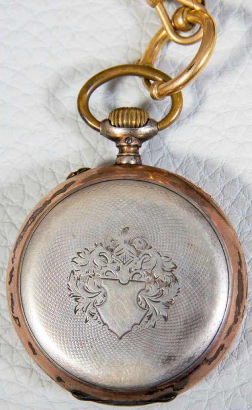 2 alte/antike Herrentaschenuhren, 800er Silbergehäuse, versch. Alter, Größen & Erhalt. 1 - Image 3 of 9