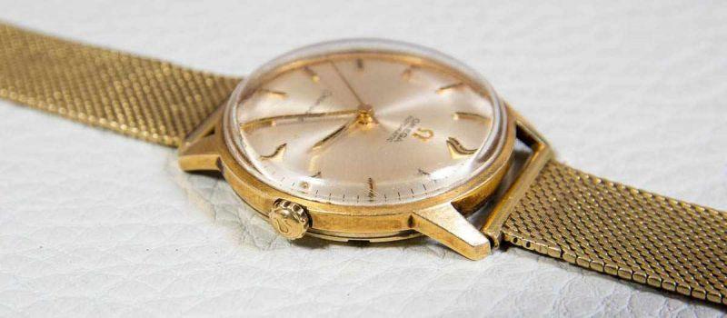 OMEGA SEAMASTER AUTOMATIK Herrenarmbanduhr der 1960er/70er Jahre, Gehäuse und Armband in 585er/14K - Image 6 of 6