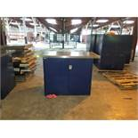 Lista Workstation: (1) 4' Wide Dbl-Door Cabinet w/ (1) SS Top (1 x Your Bid)
