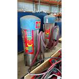 Automatic Vehicle Vacuum Stations w/ Flexible Hose (each) (2 x Your Bid)