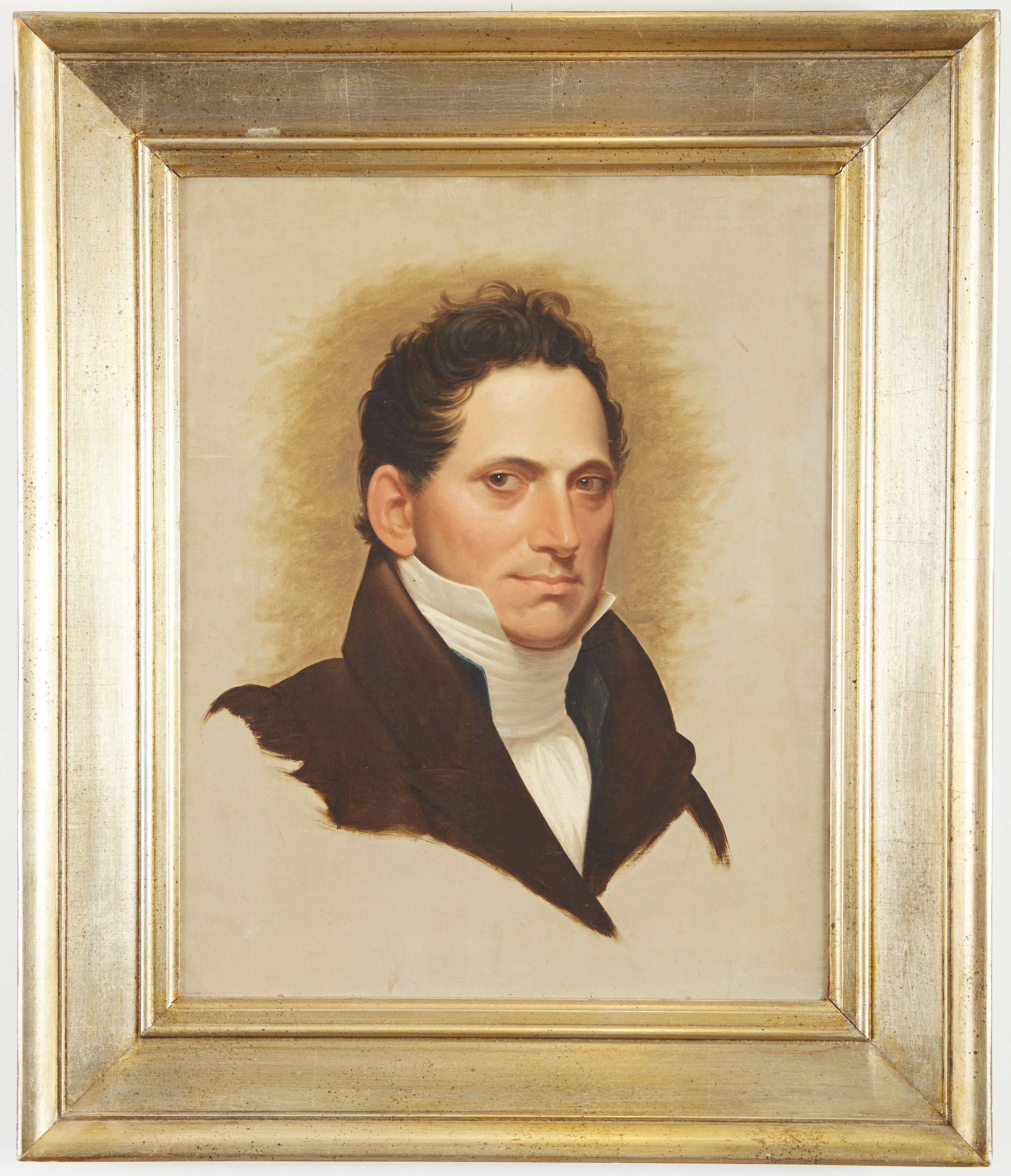 Lot 5 - 19th Century American School Portrait of a Man