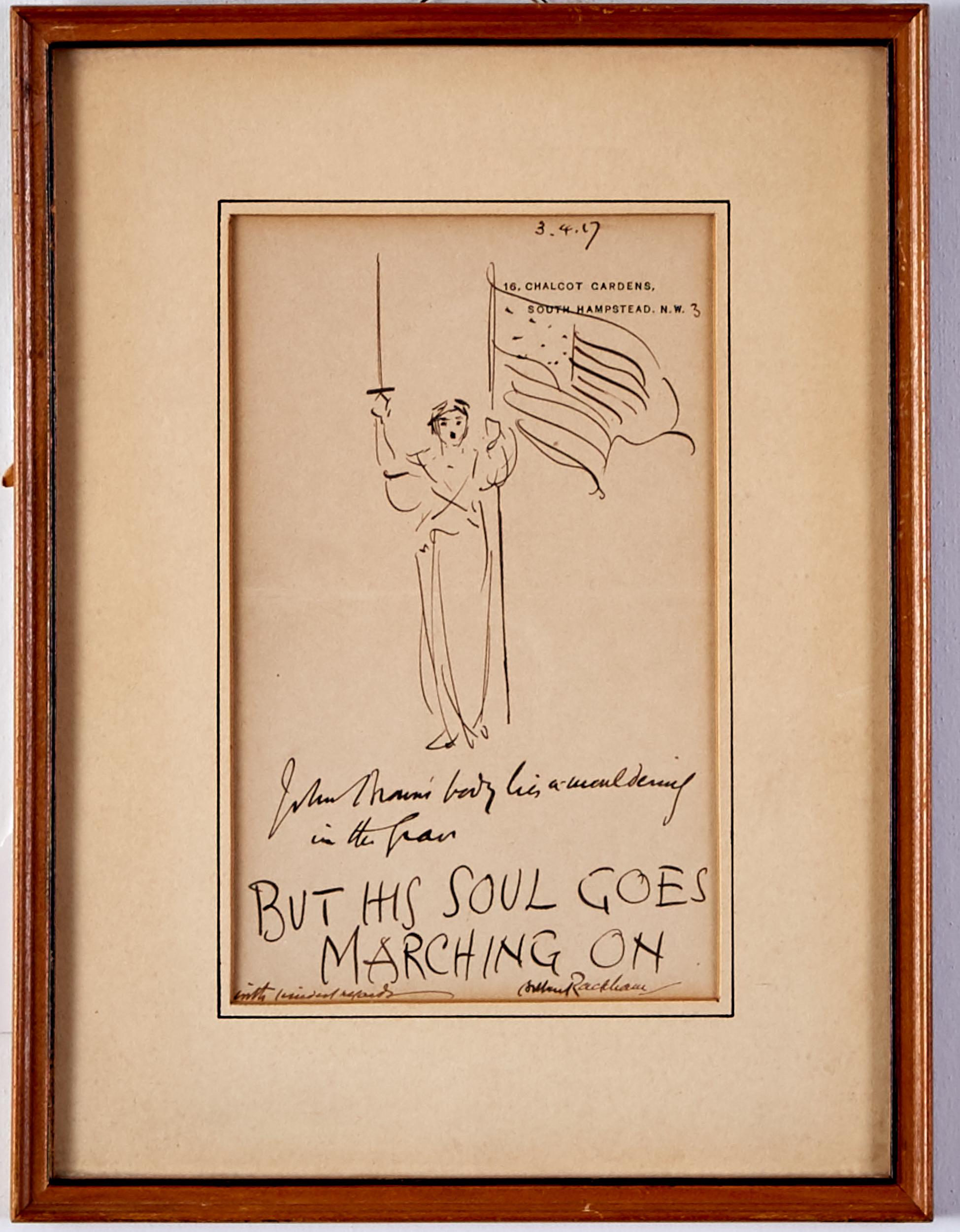 Lot 44 - Arthur Rackham Drawing