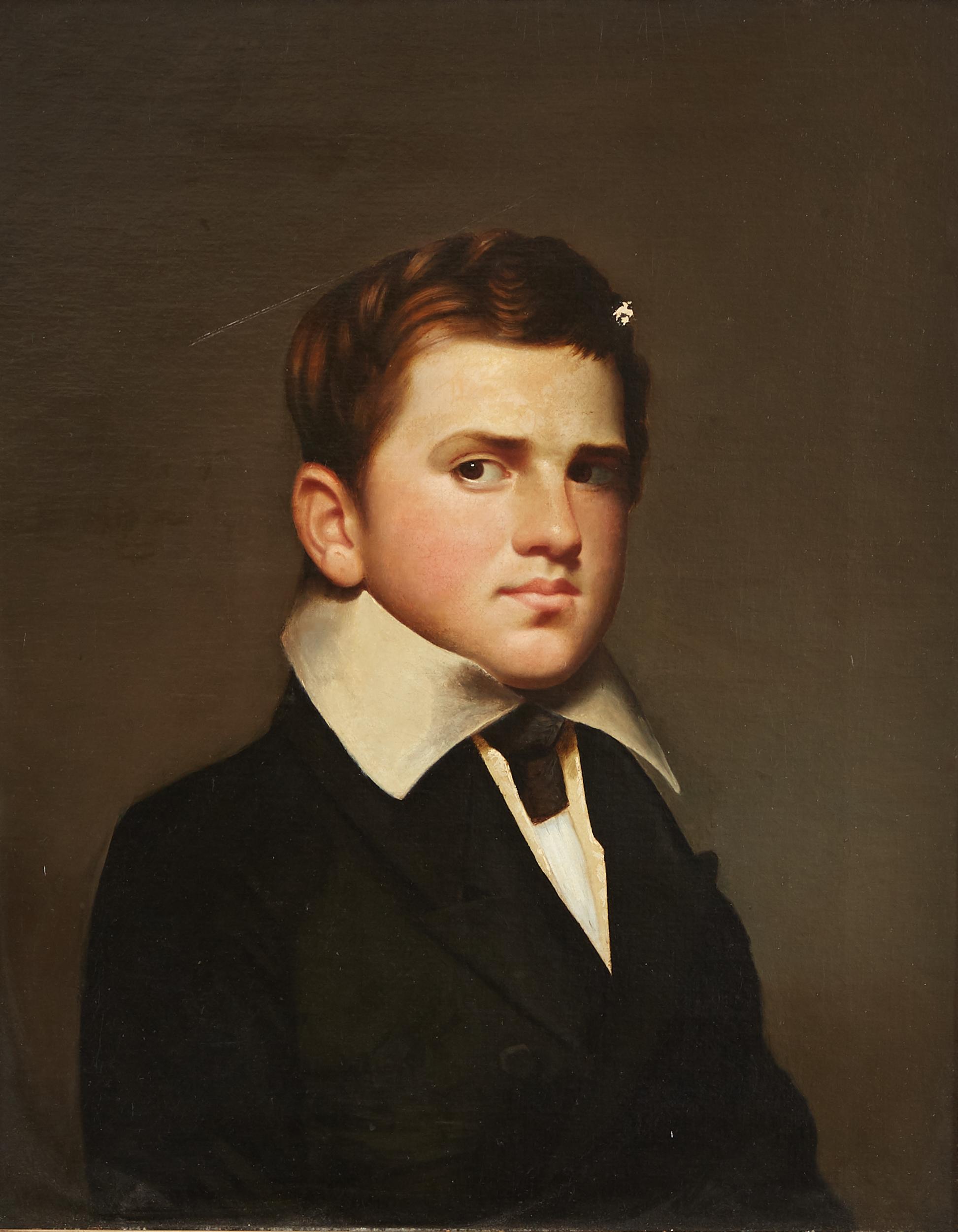 Lot 9 - Cephas Thompson Portrait of Charles Frederick Thompson