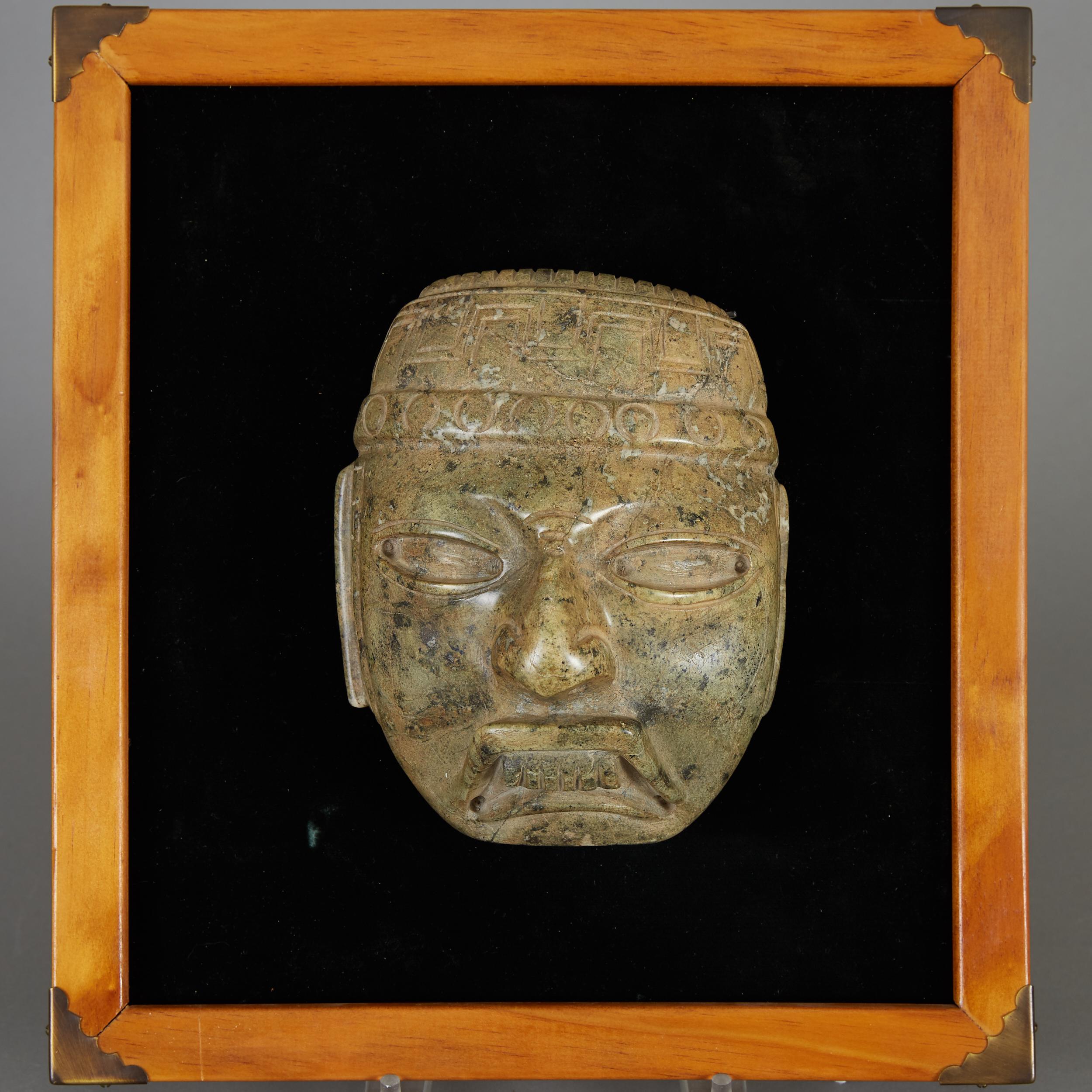 Lot 190 - Pre-Columbian Olmec Mask