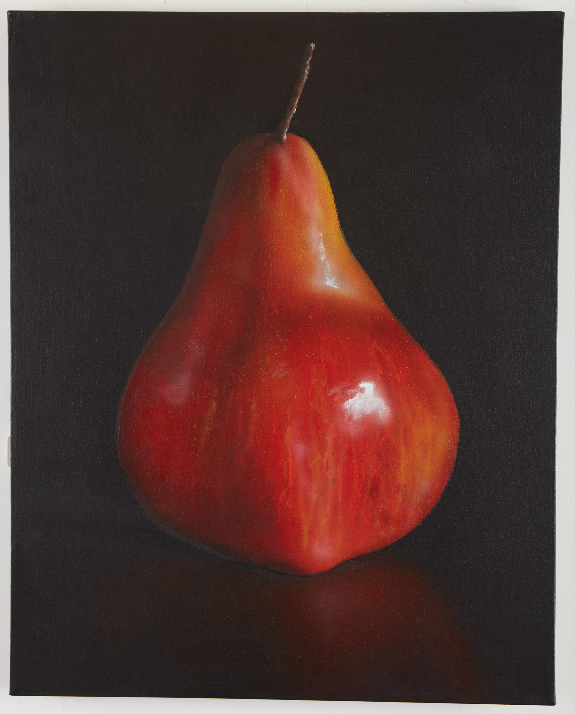 Lot 28 - Tom Seghi Red Pear Painting
