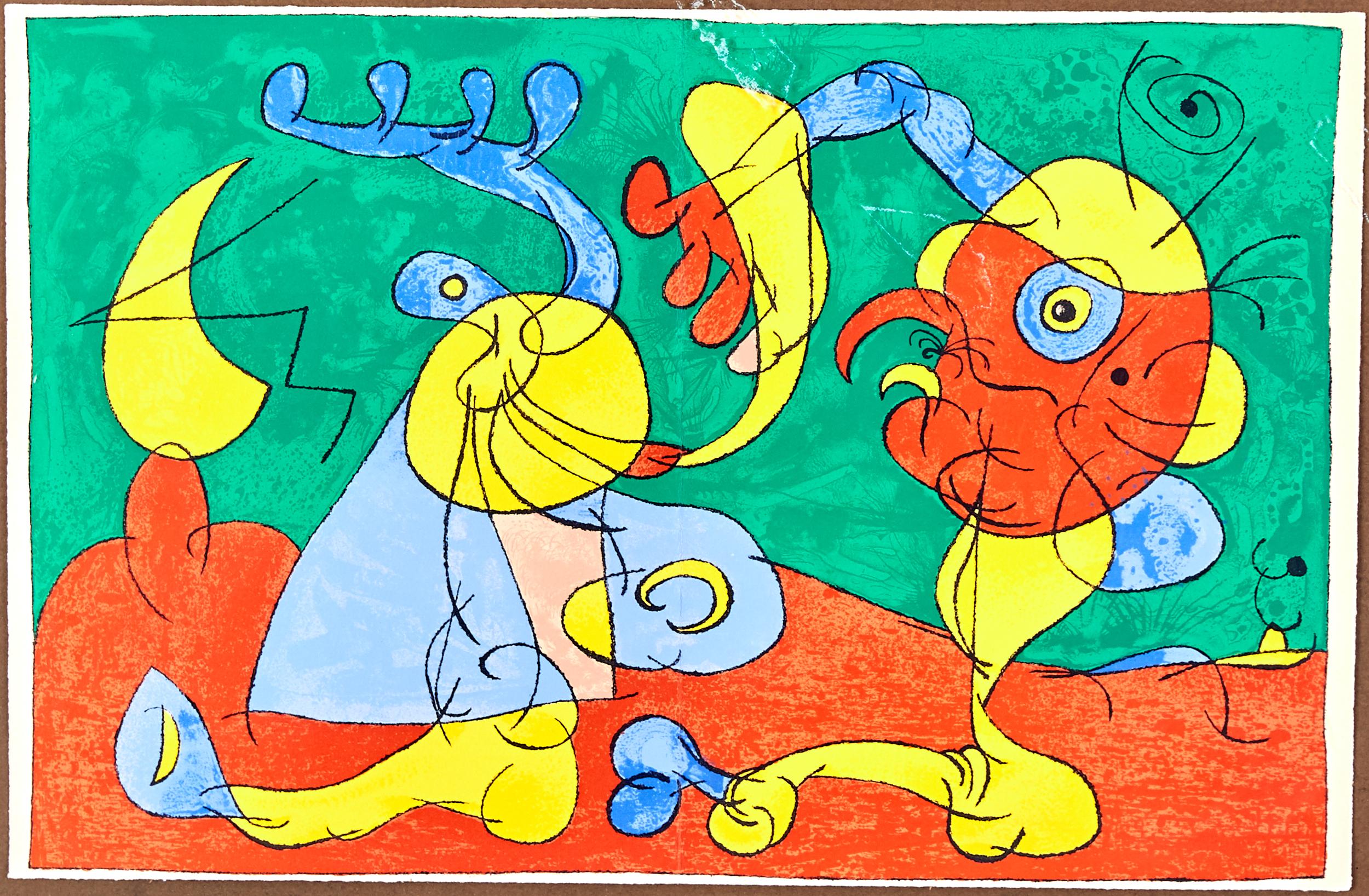Lot 53 - Joan Miro Ubu Roi Lithograph