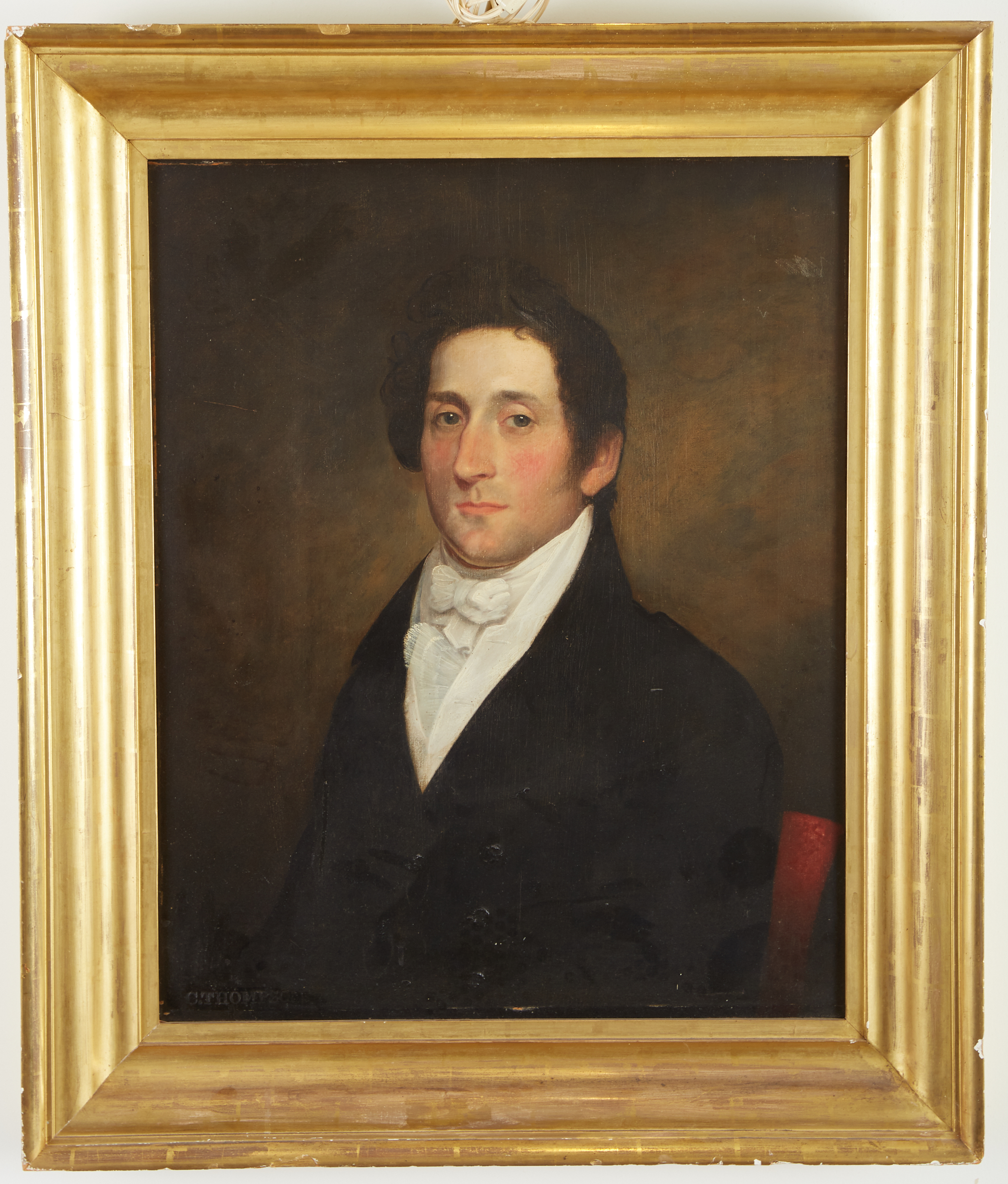 Lot 10 - Cephas Thompson Gentleman with White Stock