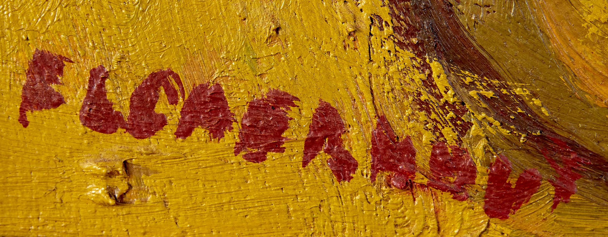 Lot 42 - Frans Martin Claerhout Oil on Board