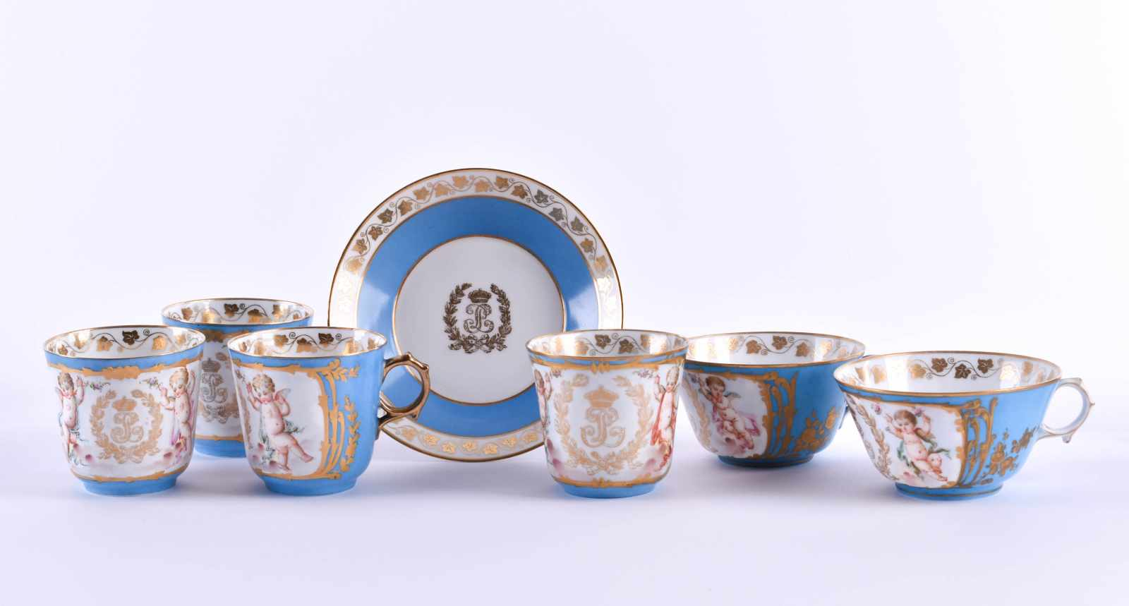 A group of Sevres KING LOUIS PHILIPPE DE FRANCE 1846