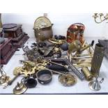 19thC and later metalware: to include hearth related items,