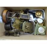 Clock accessories, comprising movements,