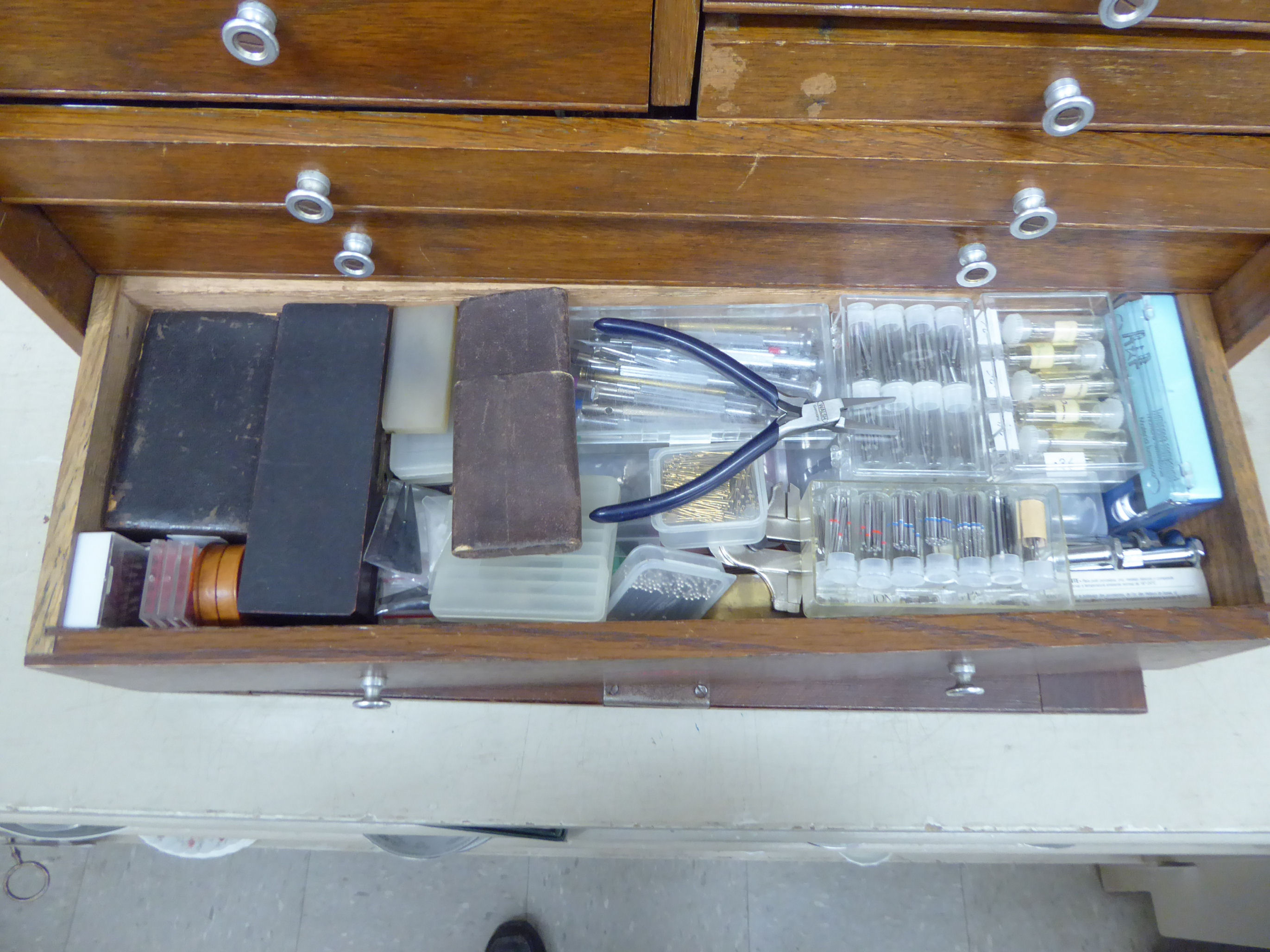 Lot 53 - Watch makers/repairers tools and accessories,