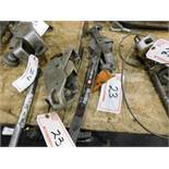 LUG-ALL & INGERSOLL-RAND RATCHET CABLE PULLERS